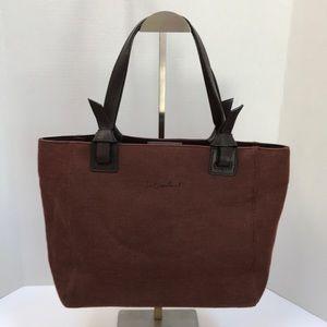 Mondani Brown Jute Shoulder Bag